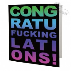 Congratufuckinglations Card