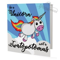 Be a Unicorn Card